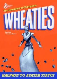 wheaties cereal box custom: Nayrielle
