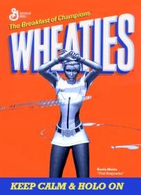 wheaties cereal box custom: Raela Moira