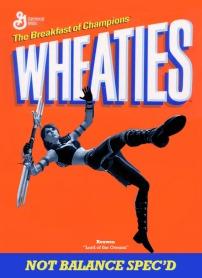 wheaties cereal box custom: Rouwen